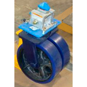 Dual Wheel ISO Container Caster