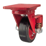 Spring Loaded Single Wheel Caster