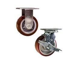 heavy duty stainless steel casters