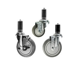 expanding adapter casters