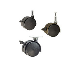 chair casters with brakes