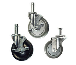 rack and shelf casters