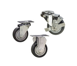 thermoplastic rubber wheel casters
