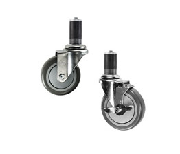 Expanding adapter stem casters