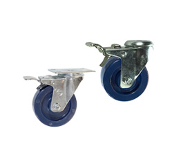 Stainless Total Lock Casters