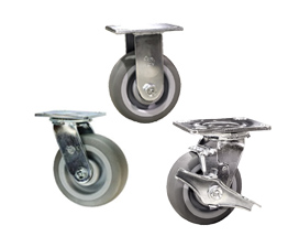 Floor safe Thermoplastic rubber wheel casters