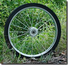 Garden Cart Wheels and Tires